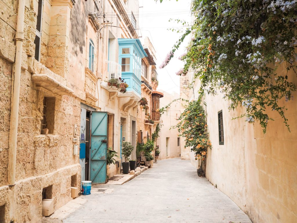 Alleyway in Rabat, Malta
