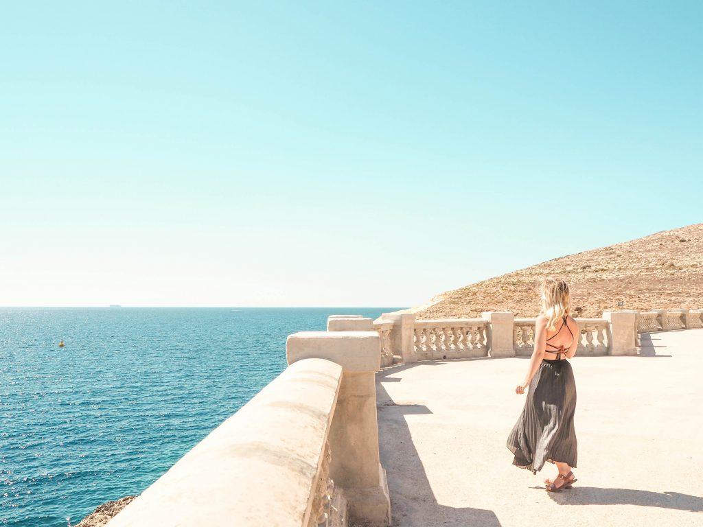 Above the Blue Grotto, Malta