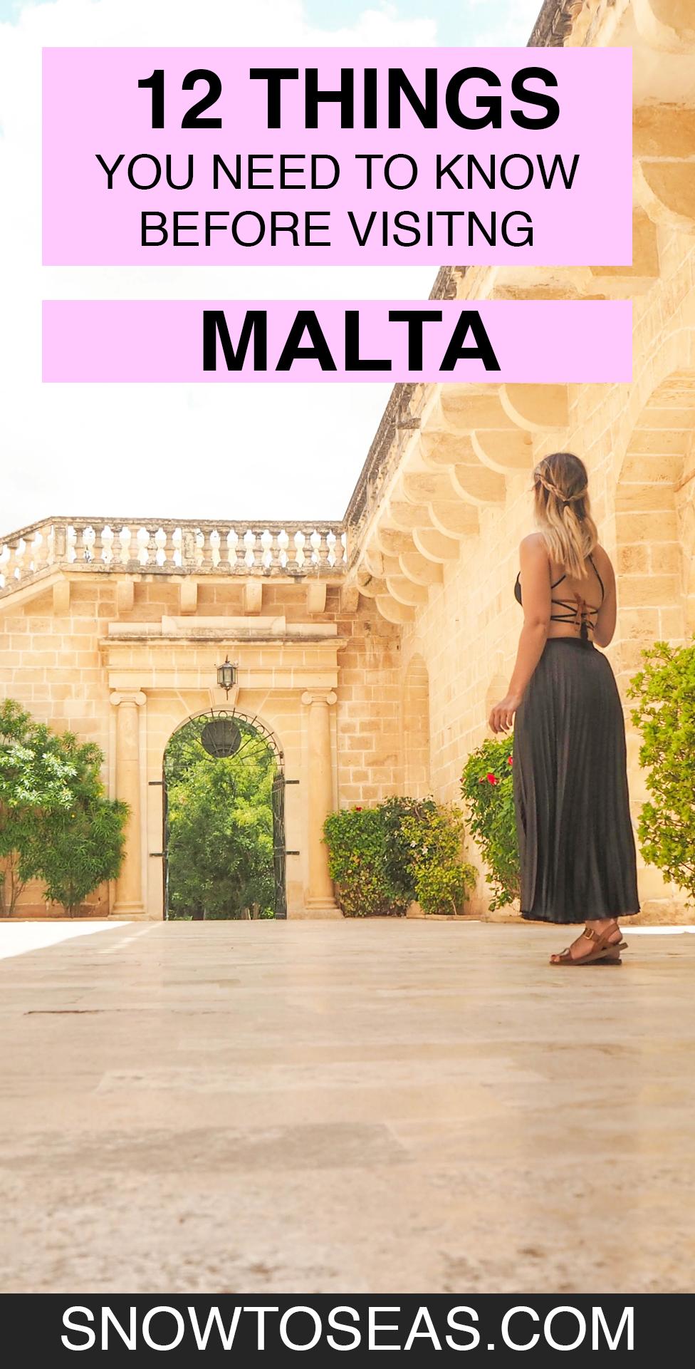 Visit Malta Pin