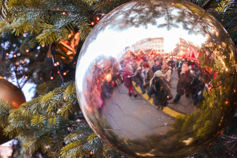 Düsseldorf, Germany Weihnachtsmarkt
