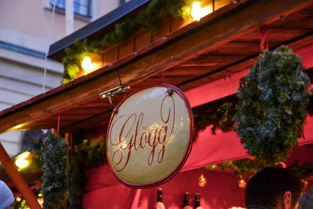 Glögg at Stockholm's Julmarknad