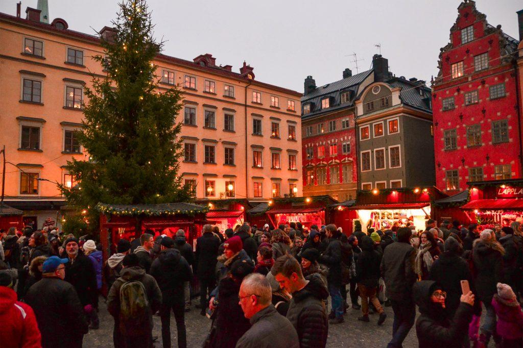 Stockholm, Sweden Julmarknad