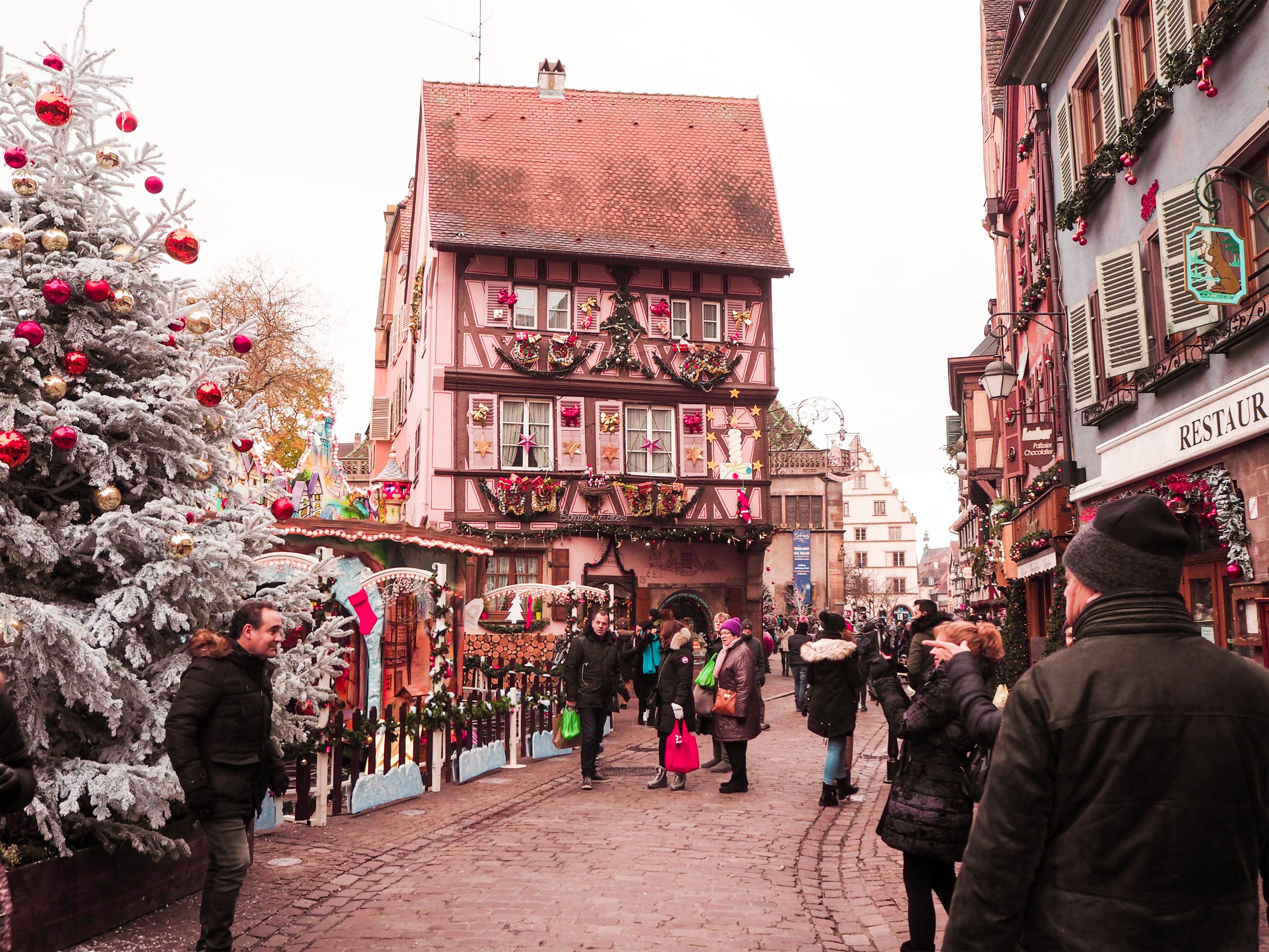 Colmar, France Marché de Noël