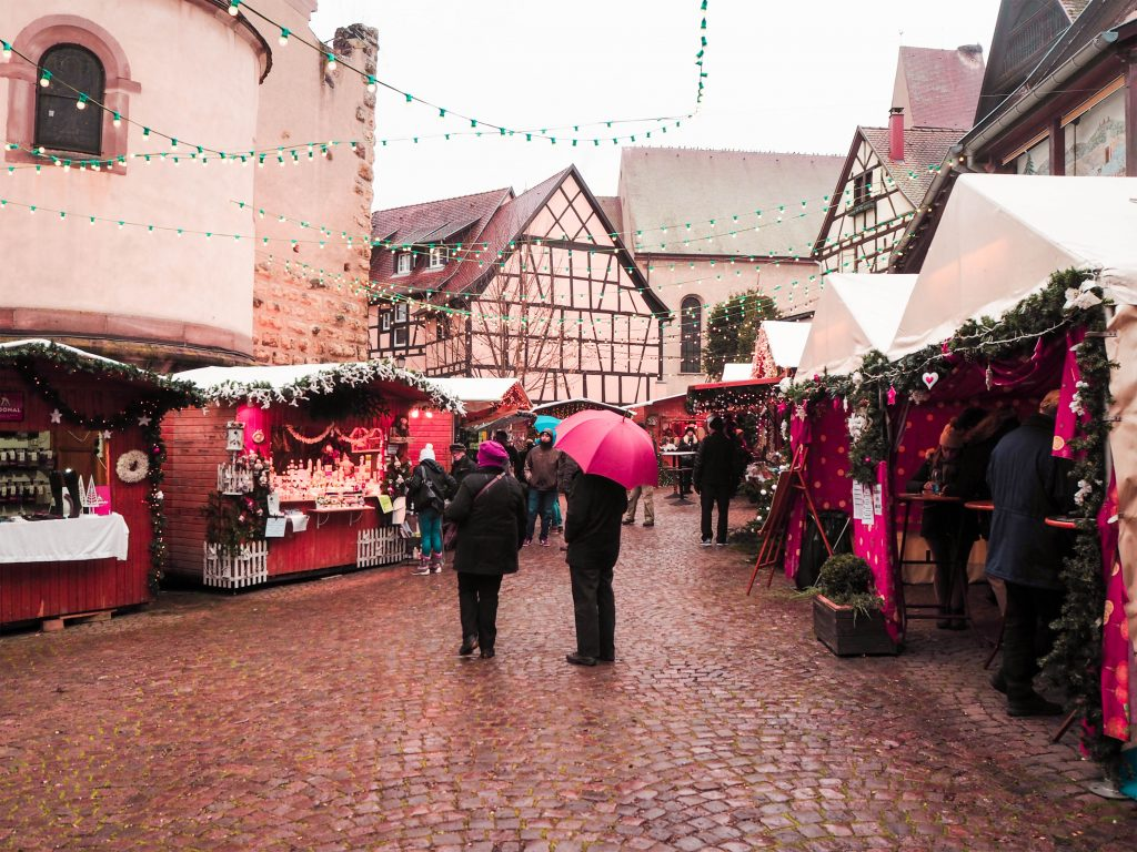 Eguisheim, France Christmas Market