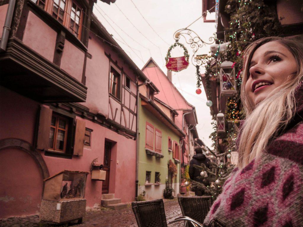 Eguisheim, France Marché de Noël