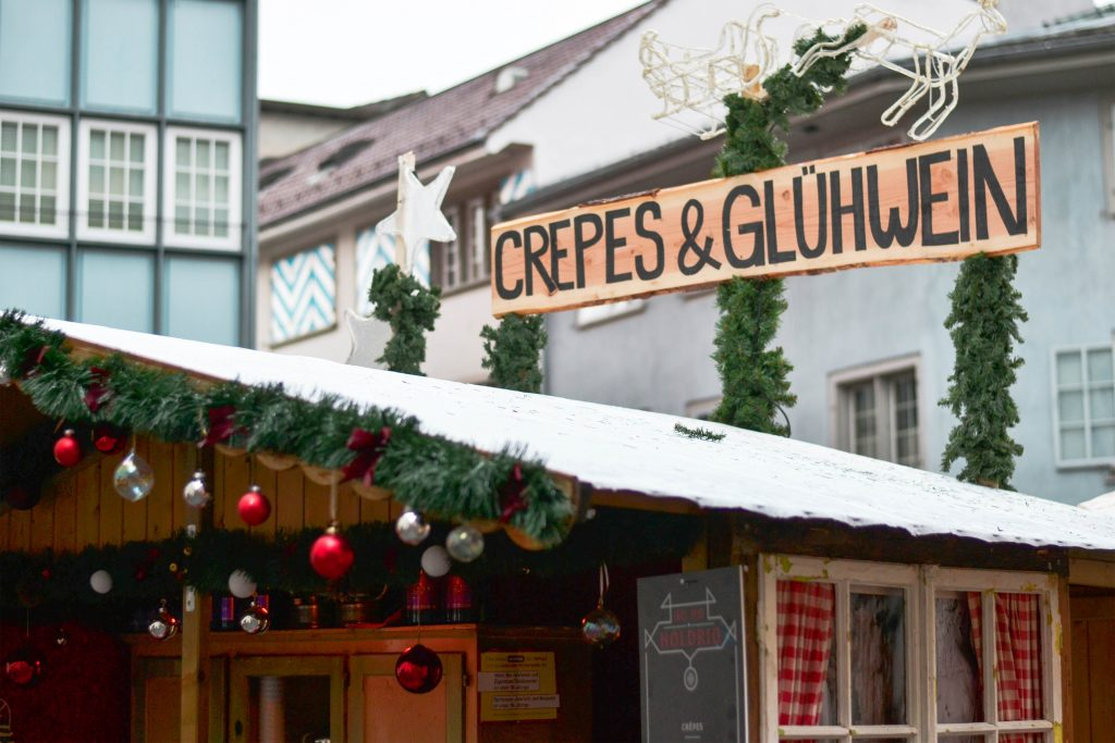 Christmas Market, Zurich, Switzerland