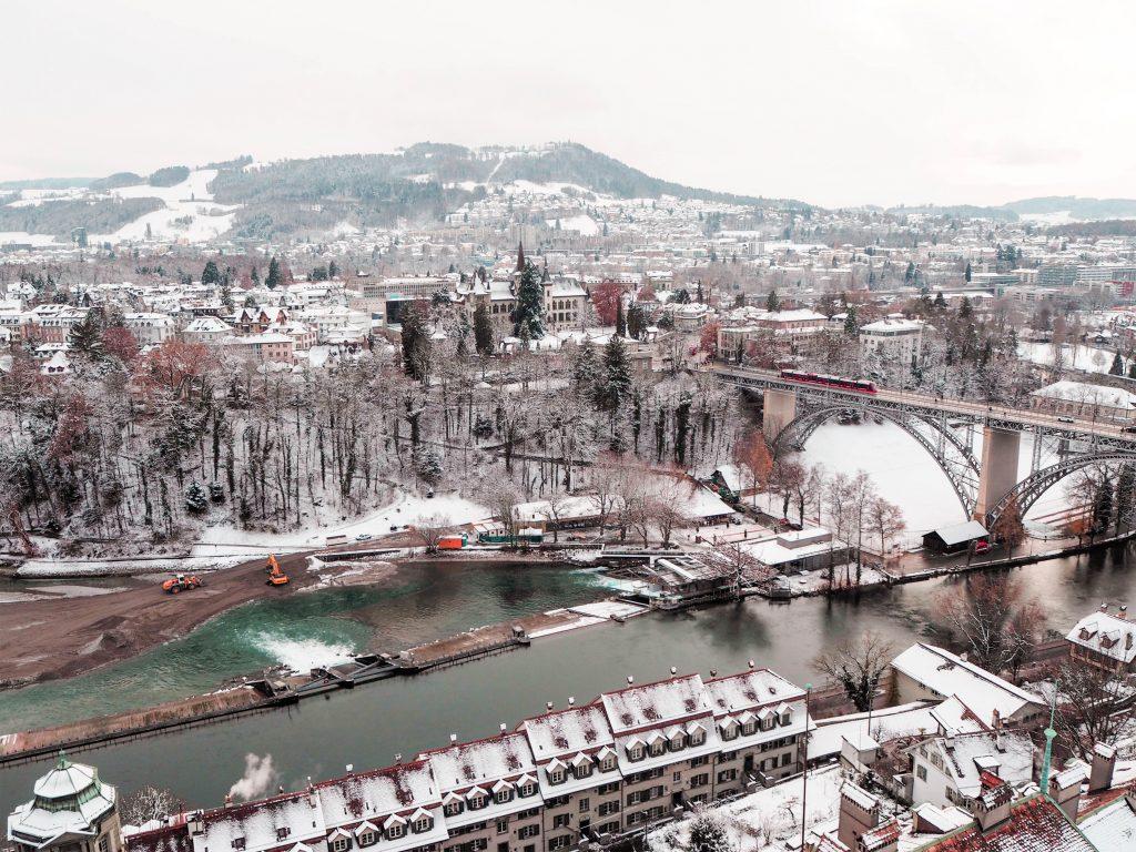 Bird's-Eye View of Bern, Switzerland