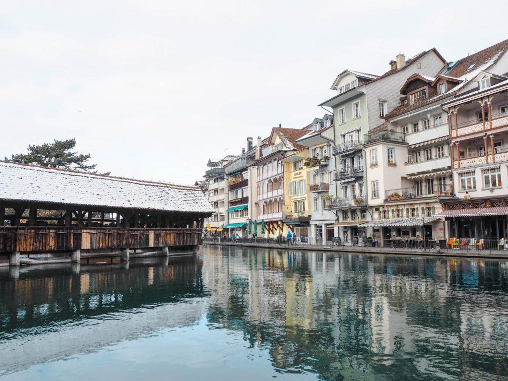 Thun, Switzerland in the winter