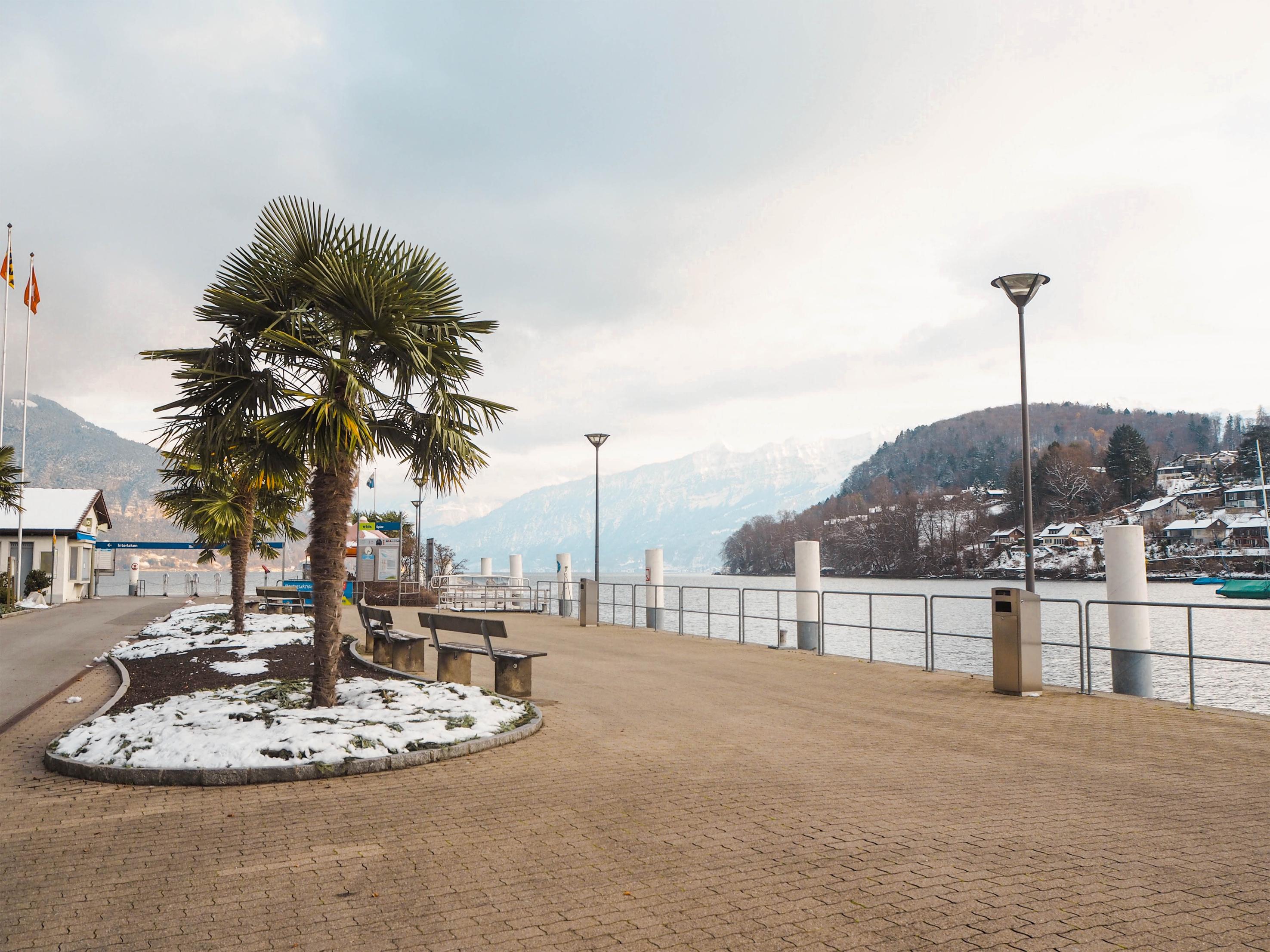 Spiez, Switzerland Waterfront