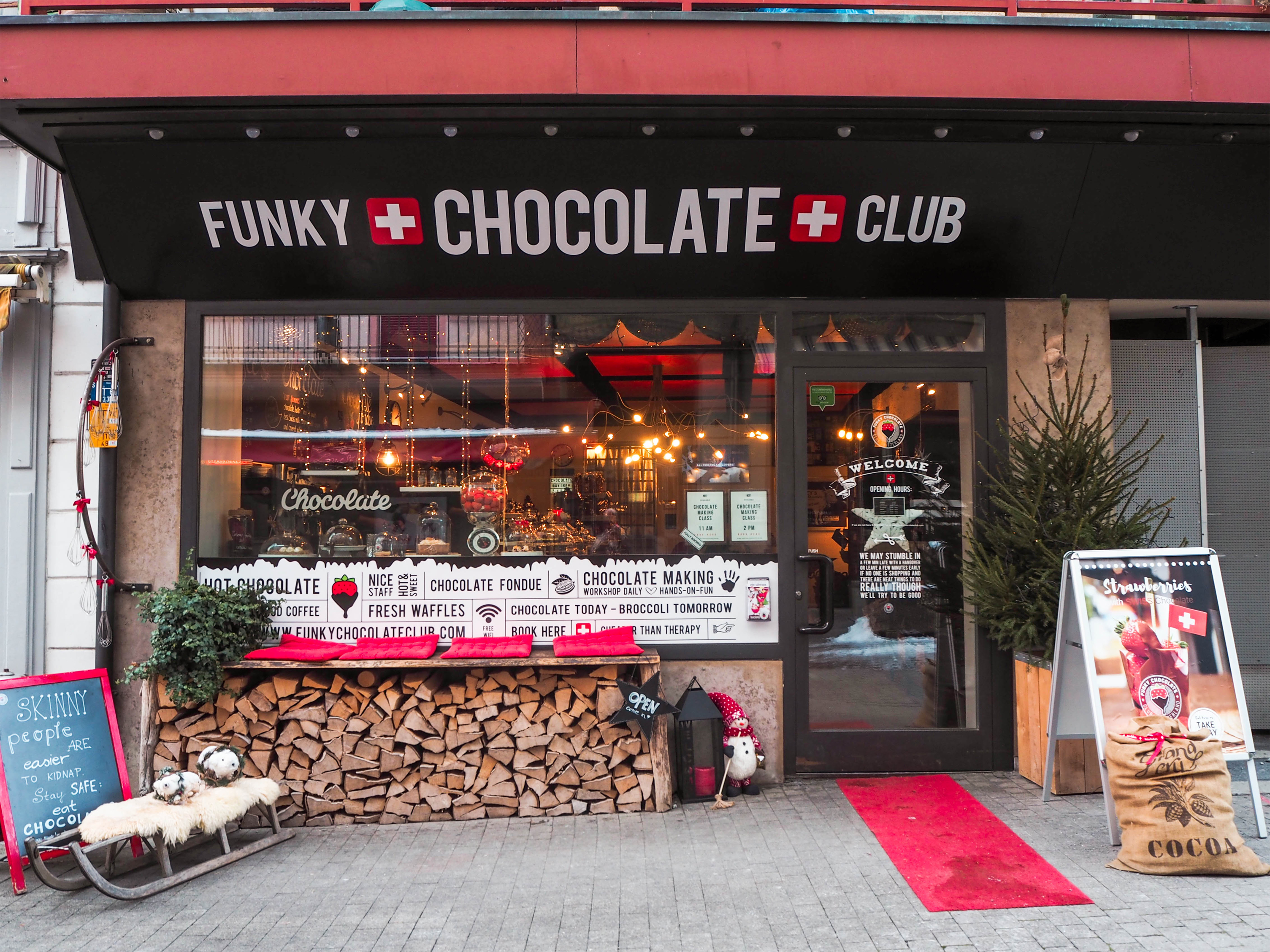 Funky Chocolate Club, Interlaken, Switzerland