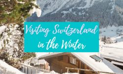 Visit Switzerland in the winter featured image