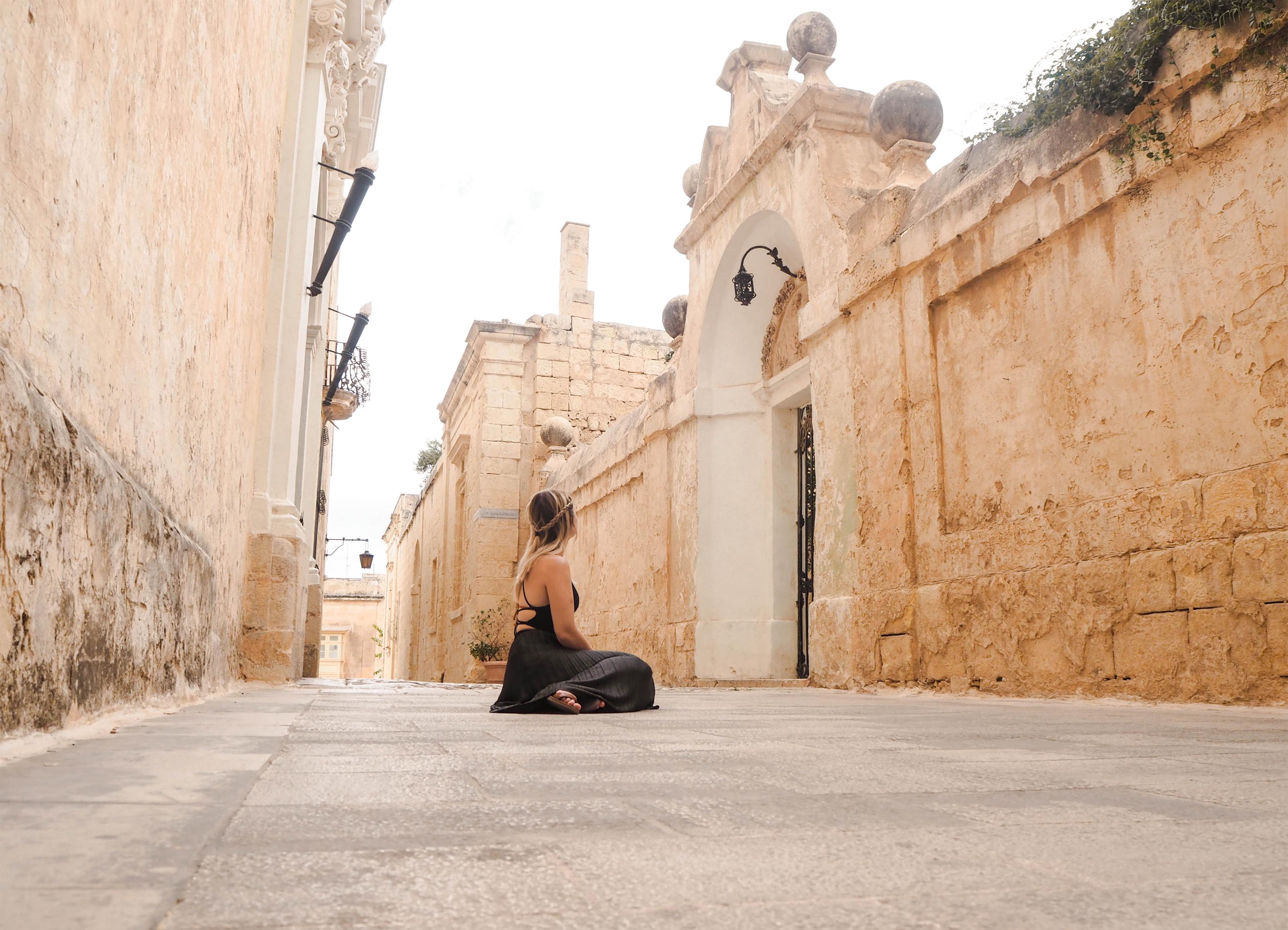 Mdina, Malta City Streets