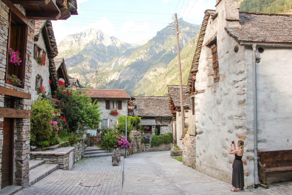 Sonogno, Ticino, Switzerland
