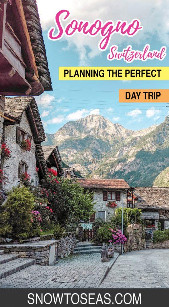 Visit Sonogno, Switzerland Pin