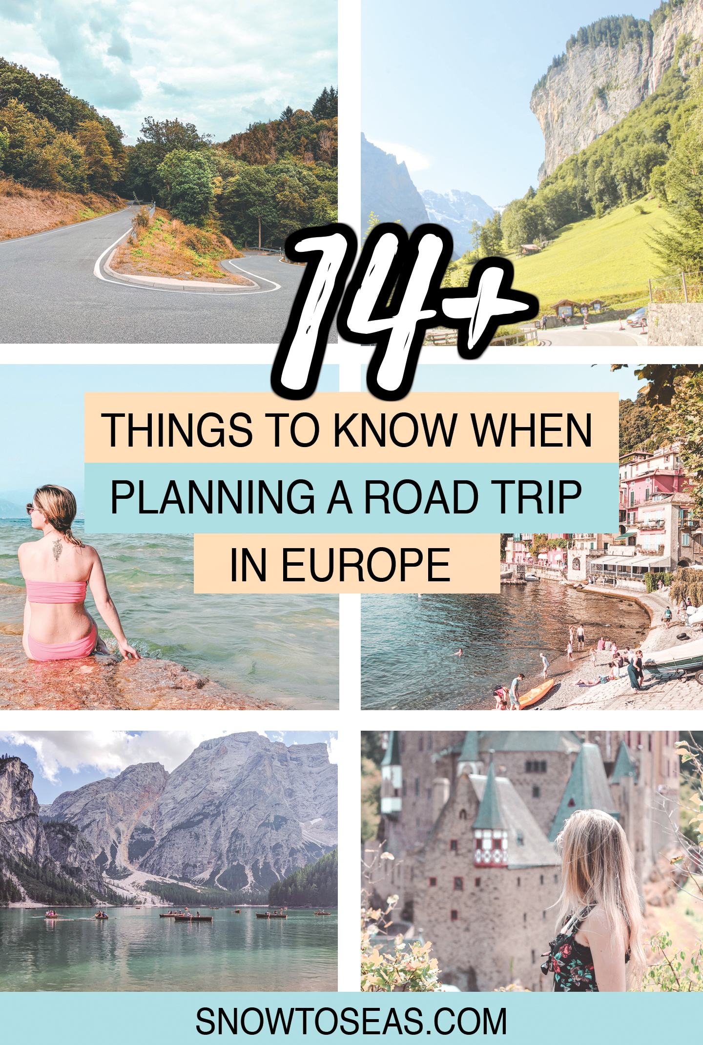 Things to Know Before Renting a Car in Europe