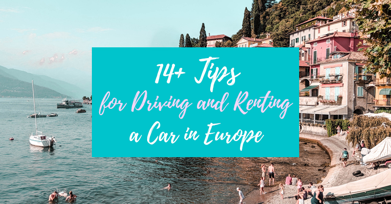 Driving in Europe Tips