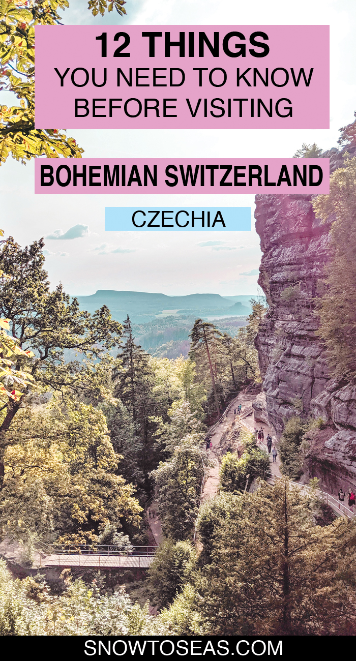 Tips for Visiting Bohemian Switzerland National Park, Czechia