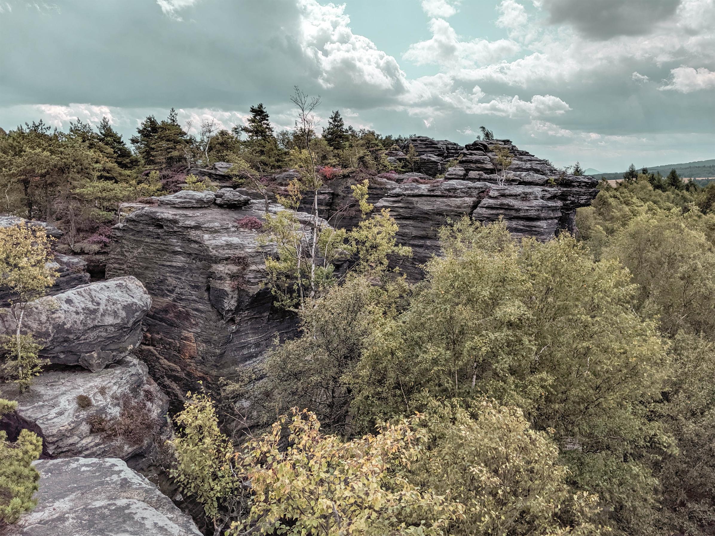 Tisa Rocks, Bohemian Switzerland National Park, Czechia