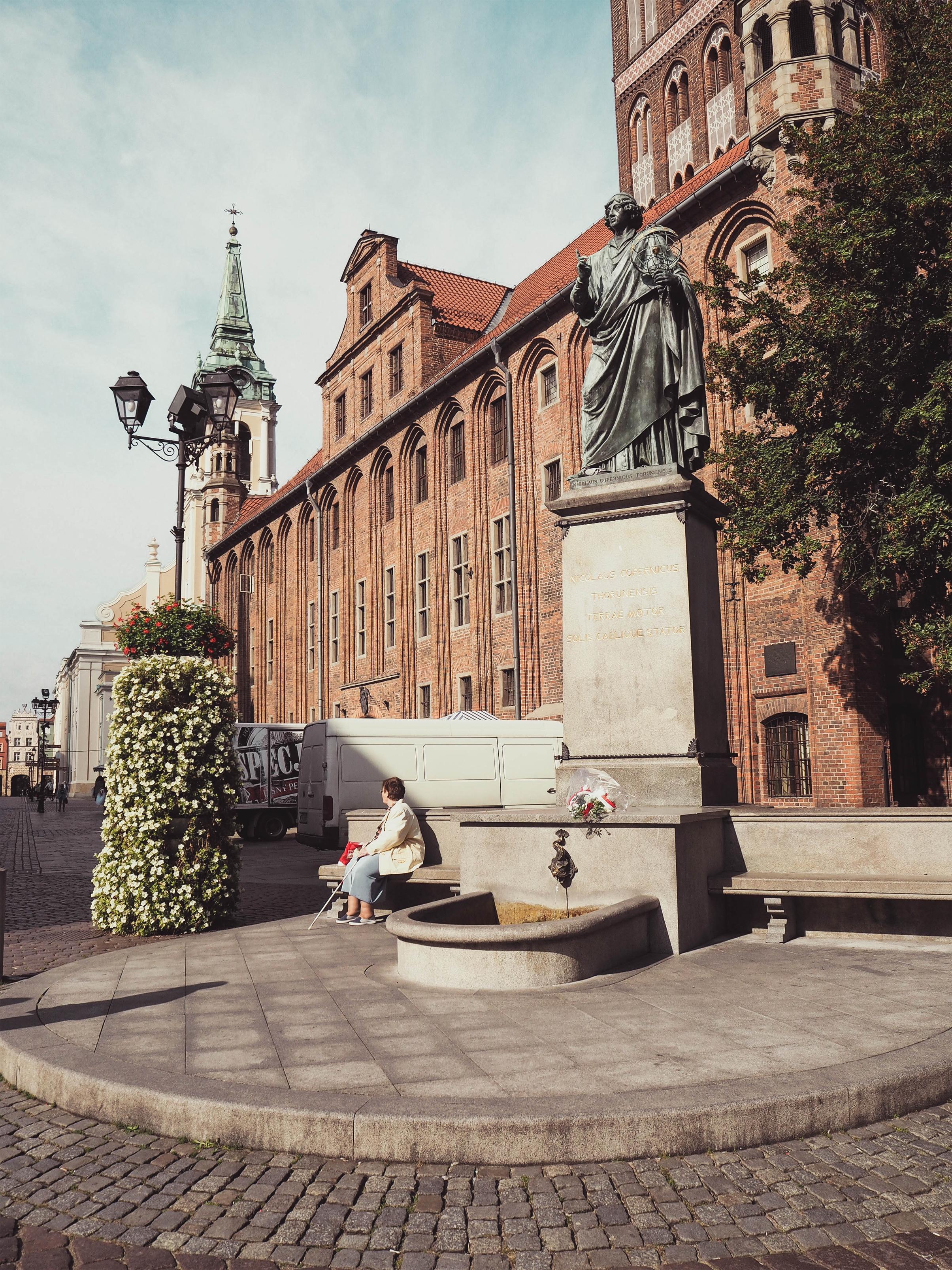 Torun, Poland Nicolaus Copernicus Monument