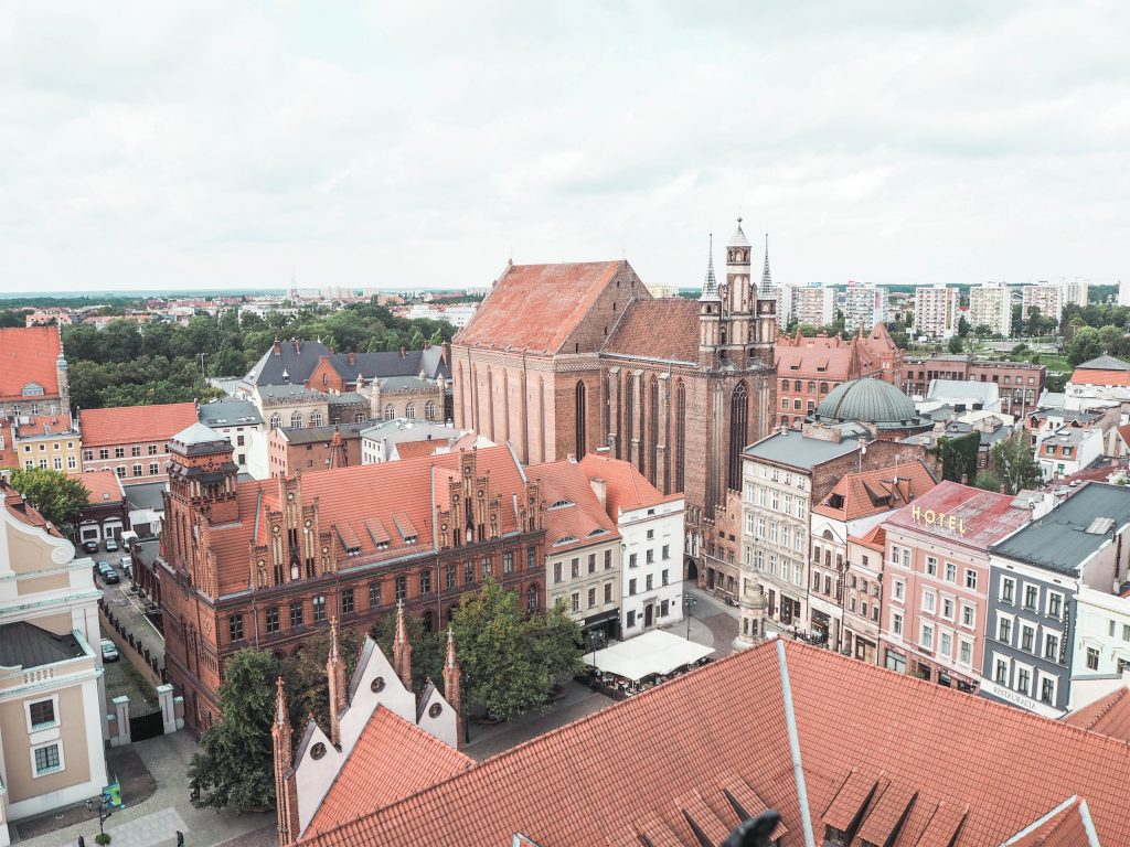 Panoramic View, Torun, Poland