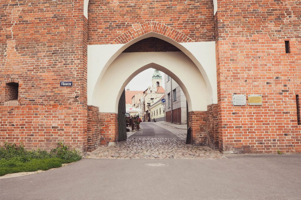 Torun, Poland, Medieval City Gate