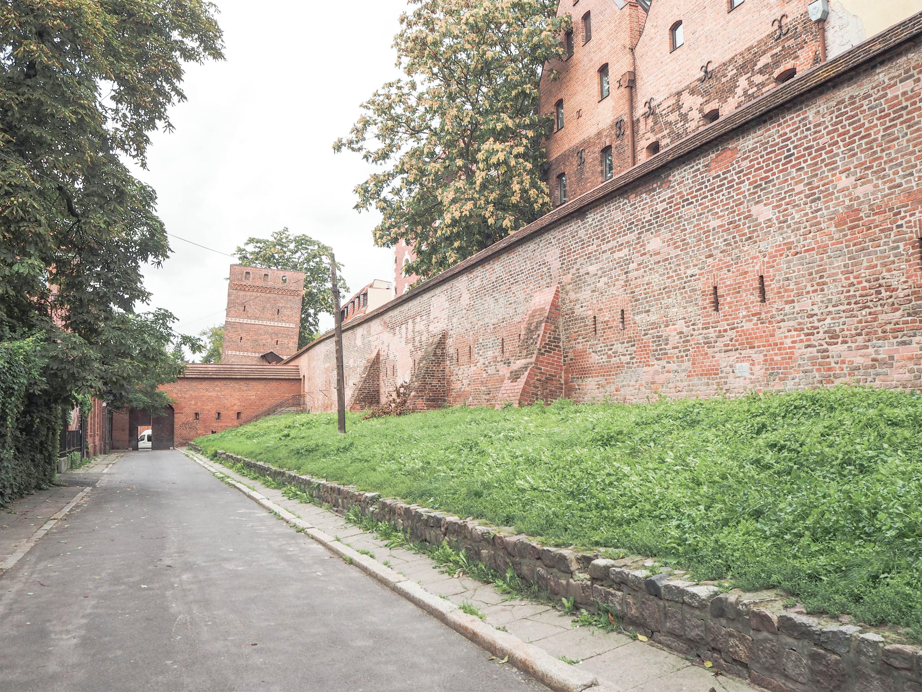 Torun, Poland Medieval City Walls