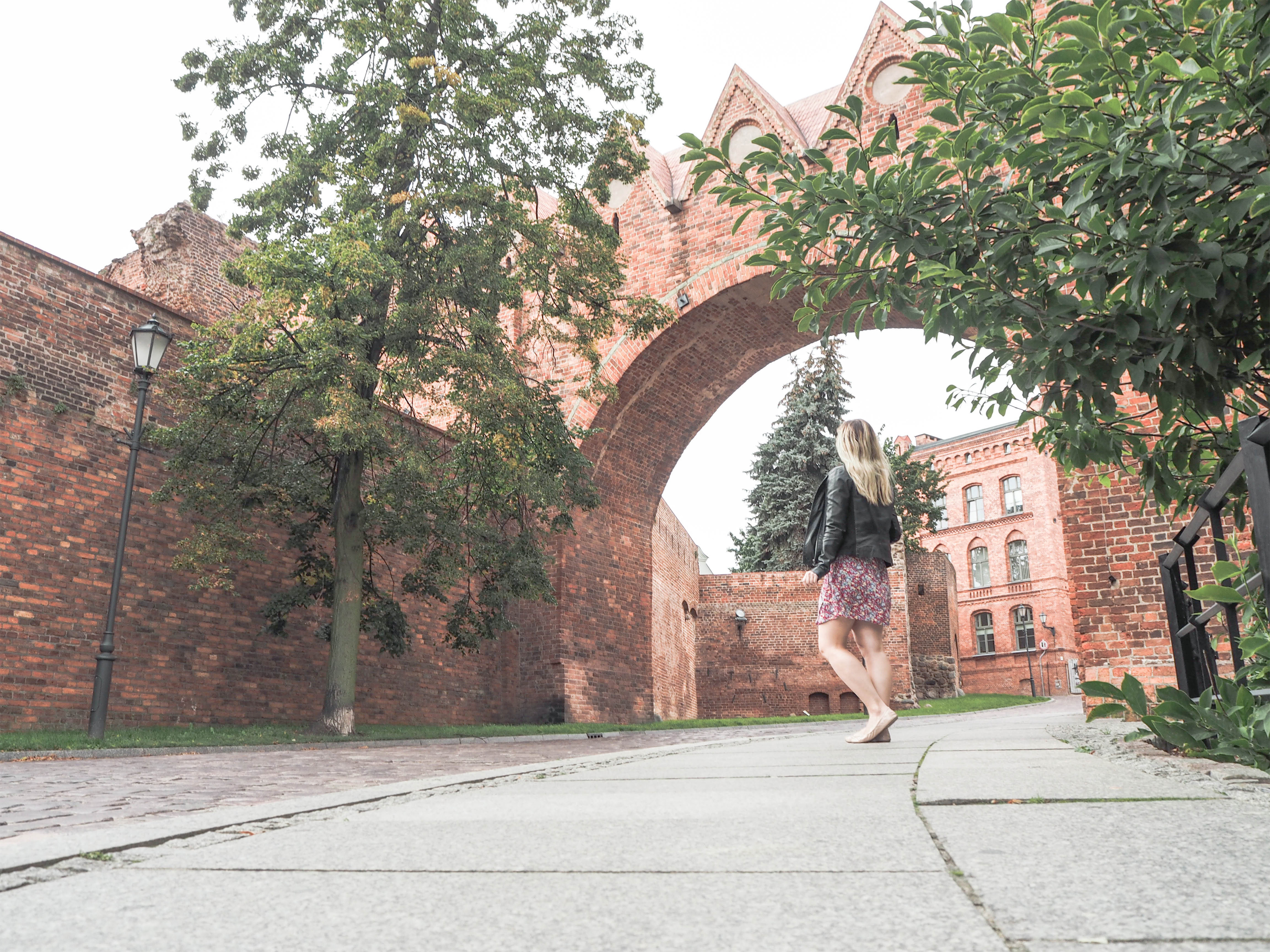 Torun, Poland Medieval City Walls