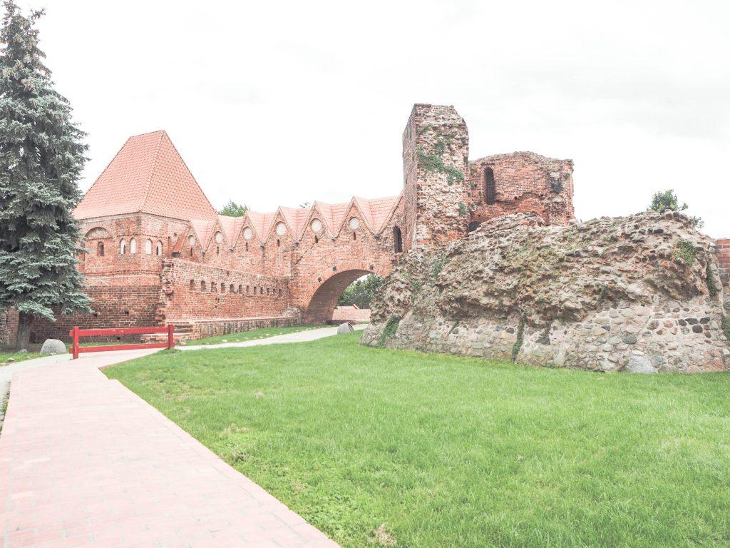 Torun, Poland Teutonic Castle Ruins