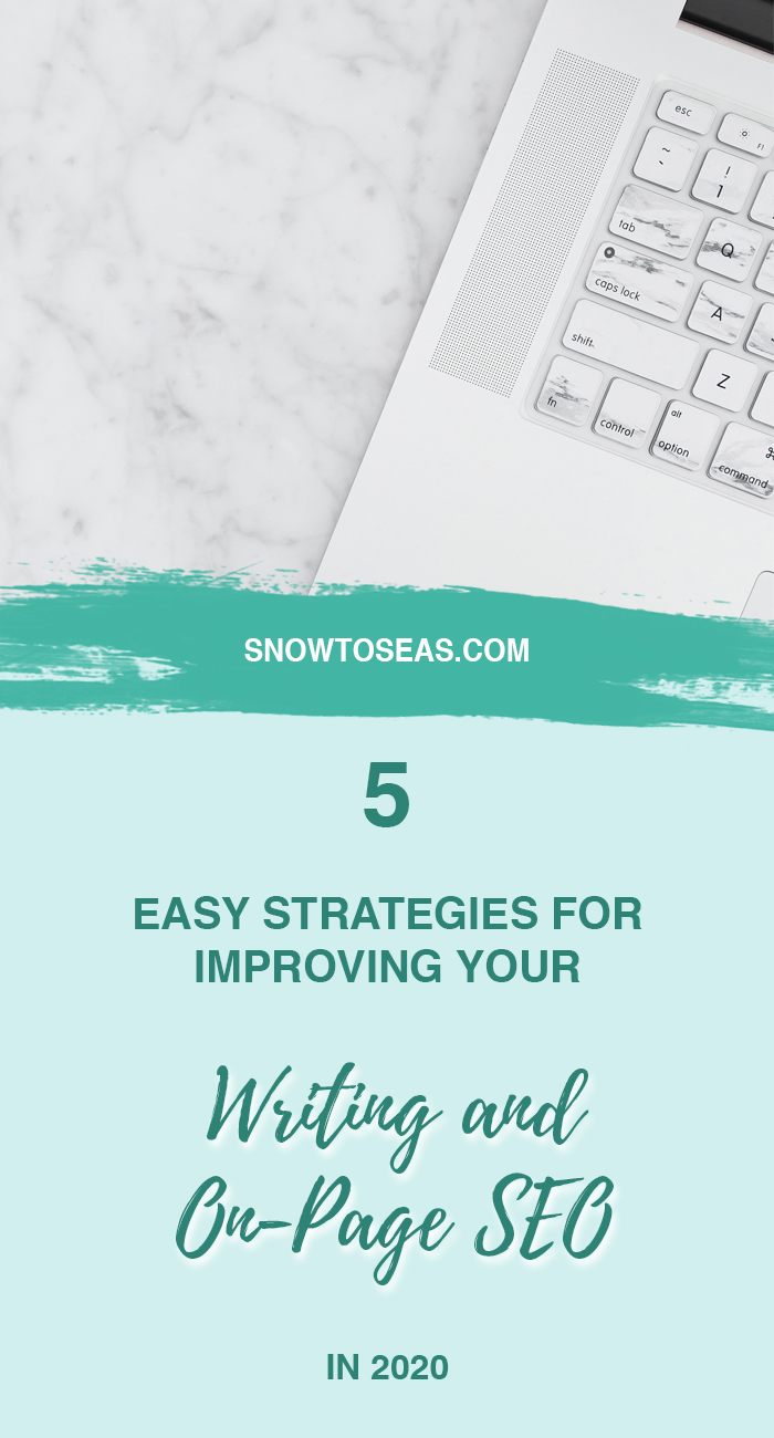 On-Page SEO Strategies Pin