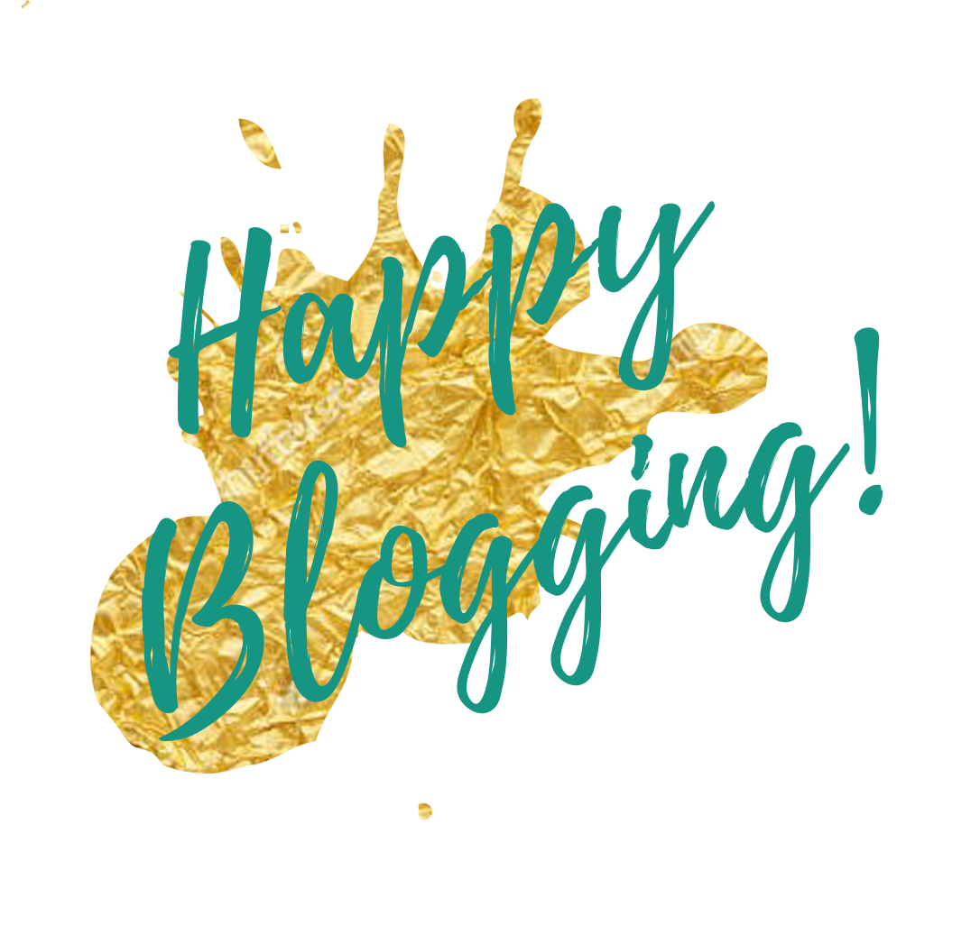 Happy Blogging!
